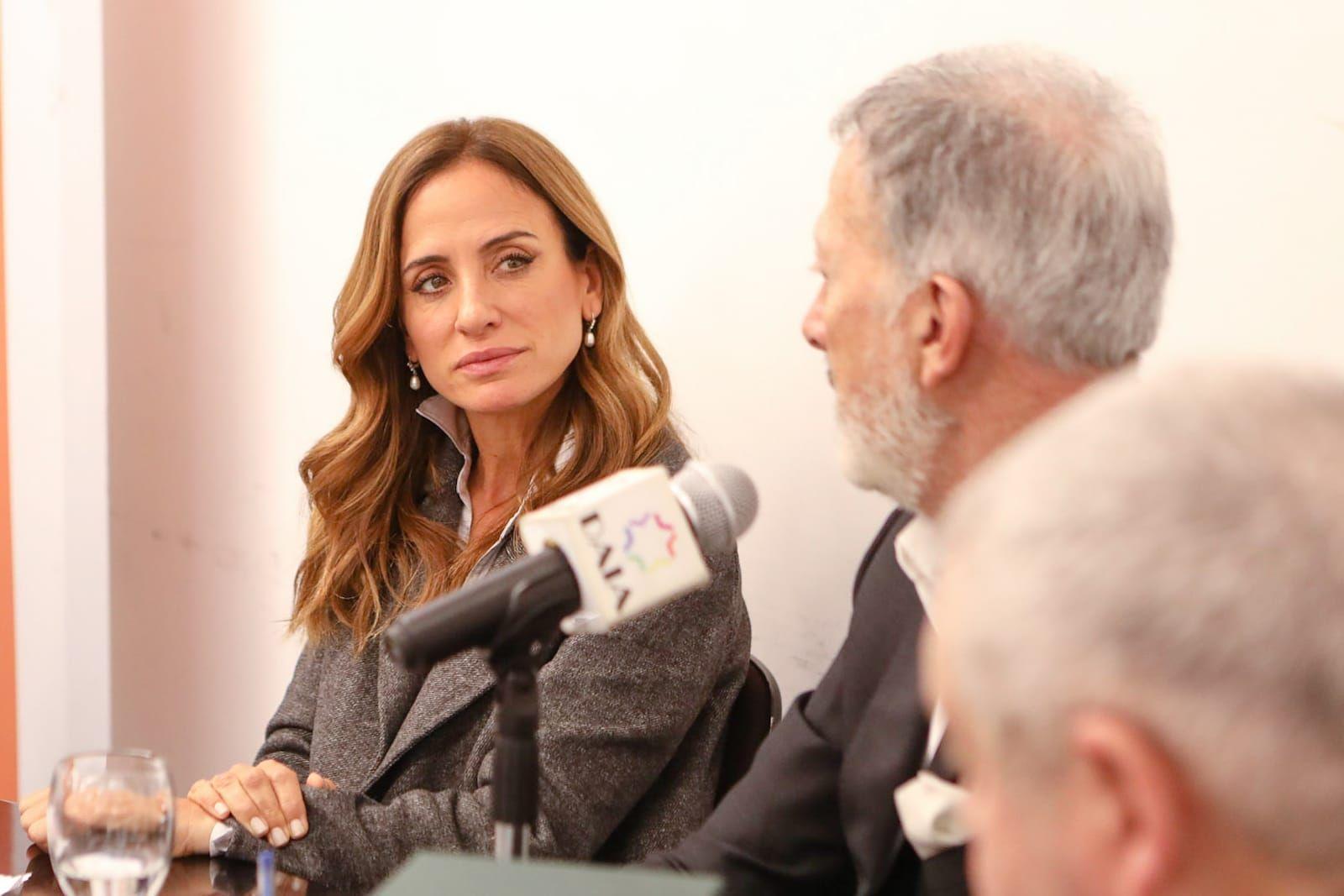 Victoria Tolosa Paz dijo que el Gobierno quiere construir una transformación junto a las empresas