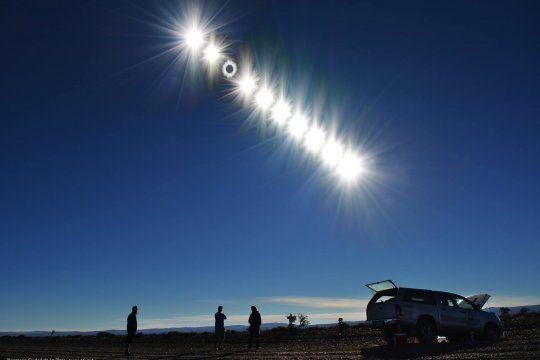 El eclipse total de Sol tendrá lugar este mediodía (Sergio Montufar - Planetario Ciudad de La Plata)