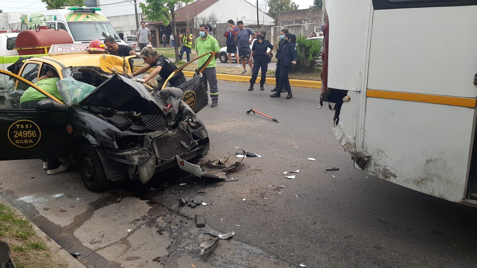El accidente fue en la esquina de 7 y 82 en La Plata