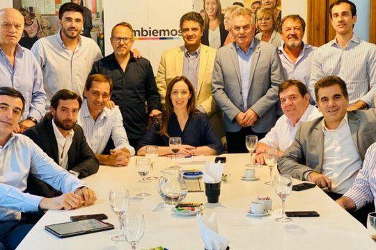 María Eugenia Vidal deja en manos de la Justicia la ley que impide las re reelecciones de intendentes.
