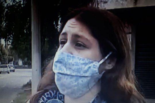 La mujer fue baleada en un brazo y se salvó de milagro