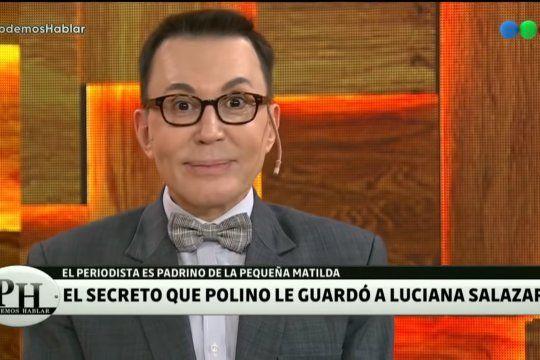Marcelo Polino reveló en PH un secreto sobre su amiga Luciana Salazar. ¿Habló de más?