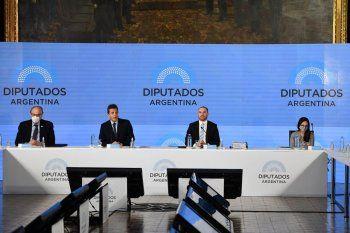 El ministro de Economía, Martín Guzmán, presenta el Presupuesto 2021.