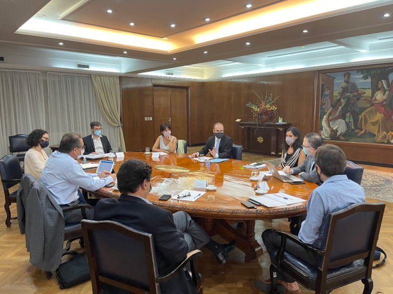 Suba de precios: Guzmán habló sobre la inflación en una nueva reunión del gabinete económico