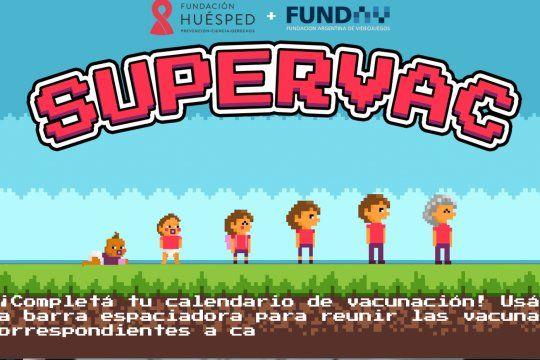 El videojuego consiste en superar distintos virus y bacterias con las vacunas del Calendario Nacional de Vacunación