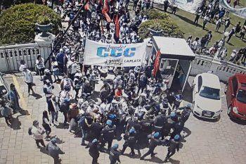 Momentos de extrema tensión en la Municipalidad de La Plata
