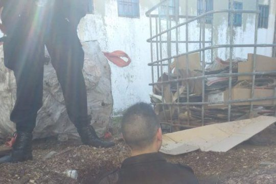 siete presos cavaron un tunel para escapar pero los descubrieron: iban a salir a un canil con perros entrenados para atacarlos