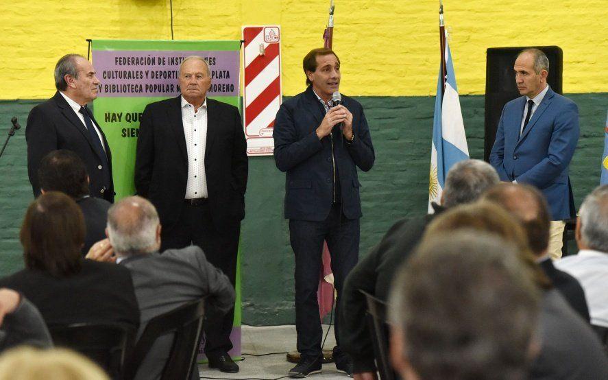 La Plata: el intendente aprobó un fondo solidario para clubes de barrios