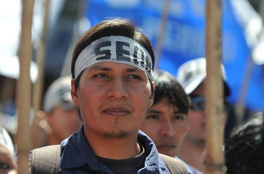 Alejandro Vilca, descendiente coya y recolector de residuos, quien obtuvo más de un 20% de los votos por el Frente de Izquierda en Jujuy.