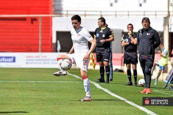 Fernando Zuqui se perderá el próximo partido de Estudiantes.