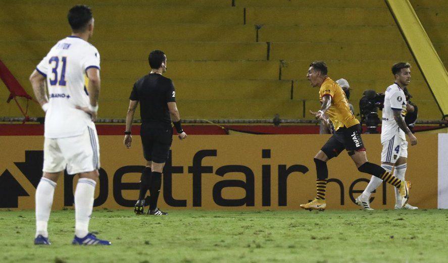 La racha positiva de Boca terminó en Ecuador