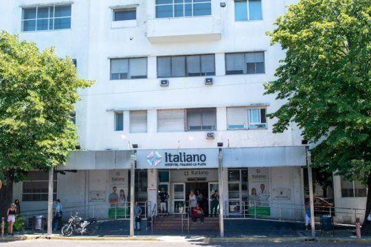 la plata: 90% de ocupacion de camas en el hospital italiano