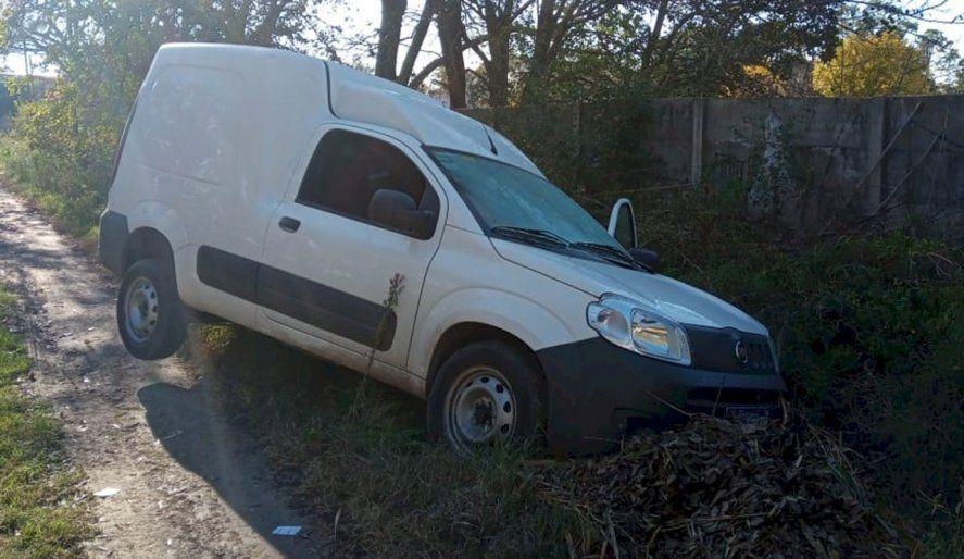 La camioneta fue recuperada en 19 y 409
