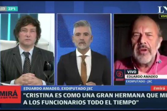 El dirigente de Juntos por el Cambio Eduardo Amadeo culpó al kirchnerismo por comprar vacunas a países de izquierda