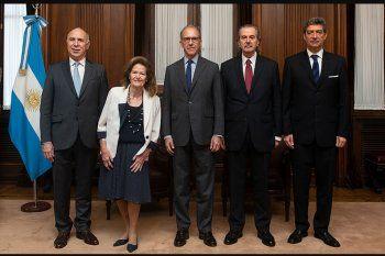 Los 5 miembros de la Corte Suprema de Justicia de la Nación que según Radio Mitre del Grupo Clarín votarán unánimemente a favor de la postura del Gobierno de CABA en la disputa por la presencialidad en los colegios.