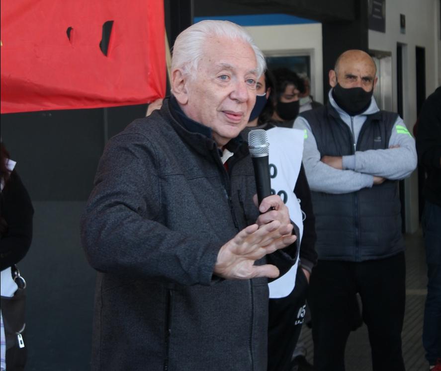 Jorge Altamira quiere demostrar su vigencia, y va por fuera del Frente de Izquierda Unidad en las elecciones legislativas 2021 de la provincia de Buenos Aires.