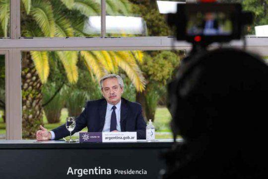 Alberto Fernández anuncia un plan de obras para cinco provincias