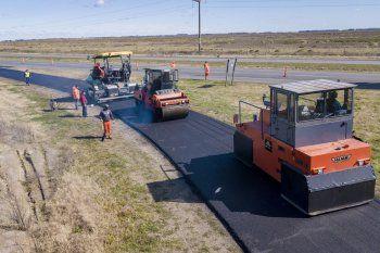 Empezaron las obras para convertir las rutas 11 y 56 enautovías
