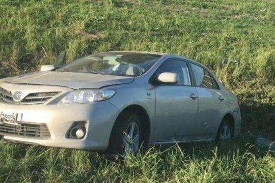 El auto fue robado en Isidro Casanova y el accidente fue en Merlo