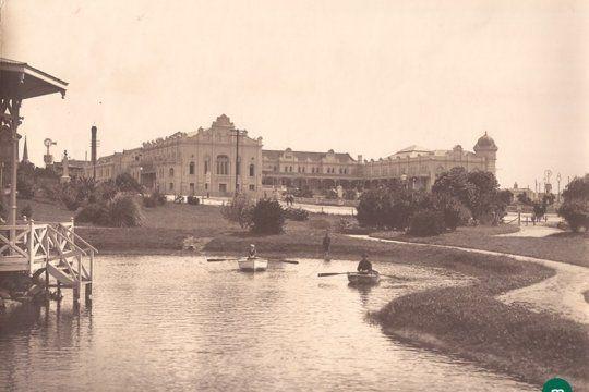 Mar del Plata y un repaso histórico con fotos del Museo Histórico Nacional