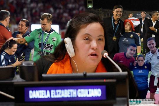 conoce a daniela giuliano, la activista por el futbol inclusivo que se robo los flashes en la copa argentina