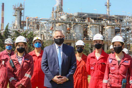Mientras algunos dicen que las fábricas se van, que los capitales se van, en Avellaneda hay una empresa como Raízen que invierte U$S 700 millones, dijo el Presidente Alberto Fernández