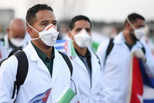 el intendente de pehuajo quiere que los medicos cubanos se radiquen en los pueblos rurales de su distrito