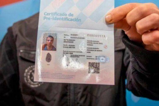 certificado de pre-identificacion: ¿como funciona?