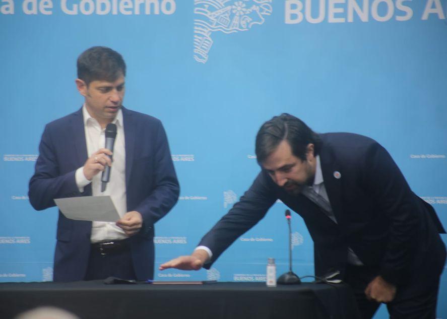 Nicolás Kreplak juró como Ministro de Salud bonaerense