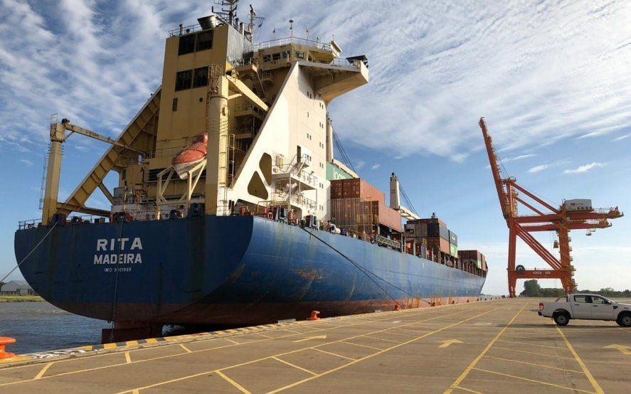 El Puerto La Plata realizó una operación de prueba por primera vez desde su inauguración