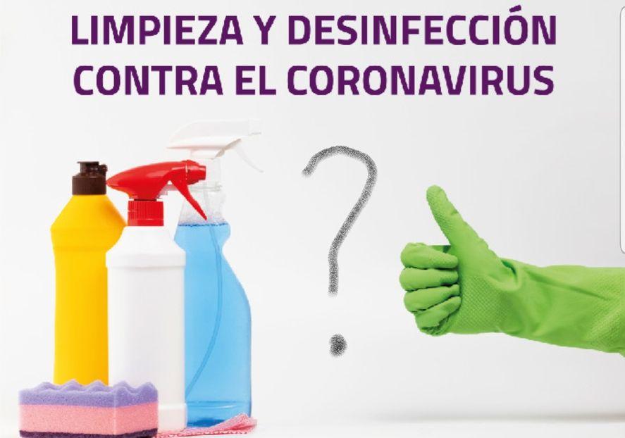 ¿Hay que desinfectar todavía las compras o eso ya fue?