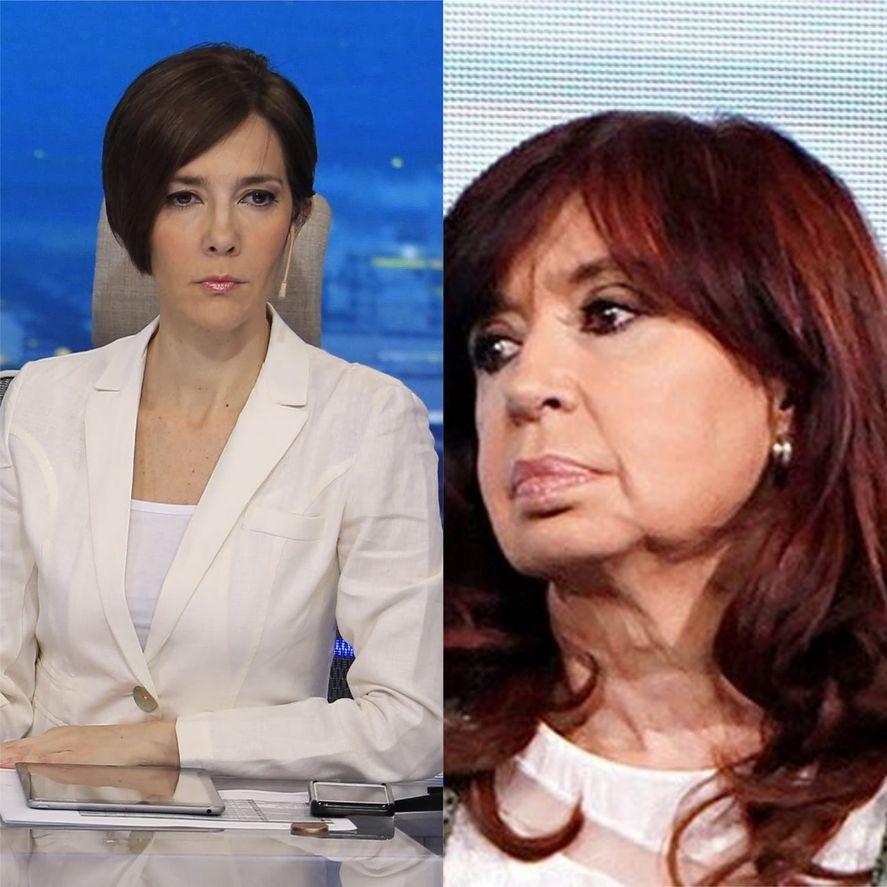 Cristina Pérez y una polémica declaración sobre Cristina Kirchner