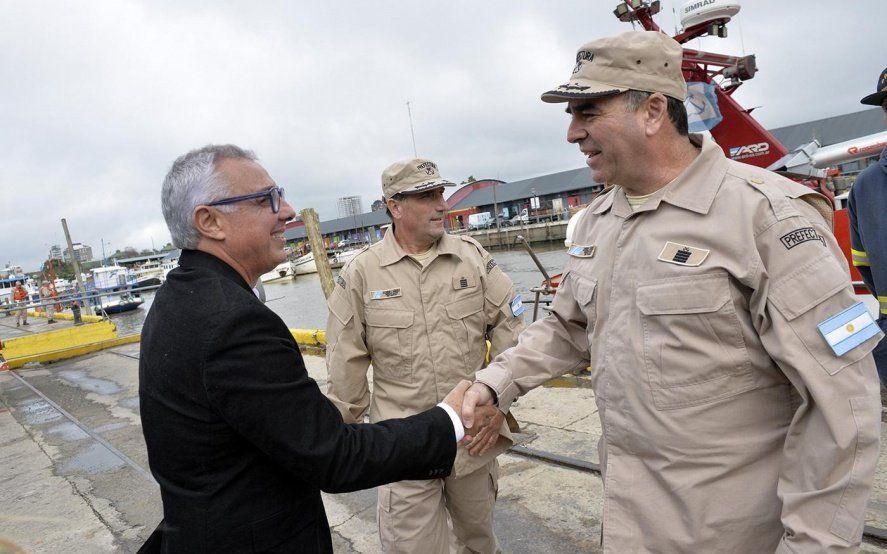 Julio Zamora inauguró una estación de salvamento para reforzar la seguridad en el distrito