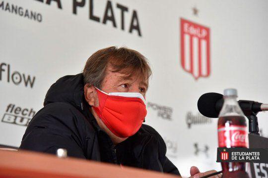 Zielinski habló en conferencia de prensa.