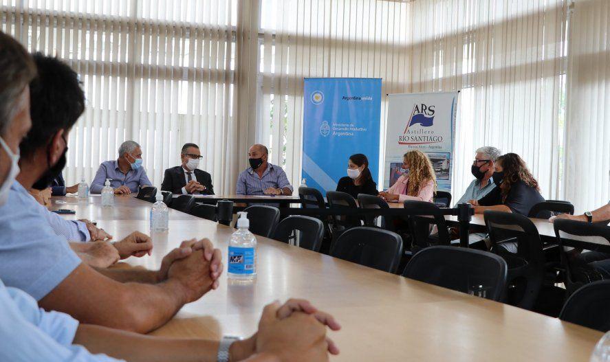 El Astillero Río Santiago recibió fondos por parte del Gobierno nacional