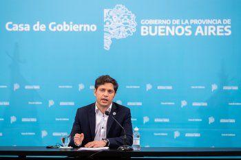 Desde Gobernación, Axel Kicillof brindó detalles de la nueva cuarentena.