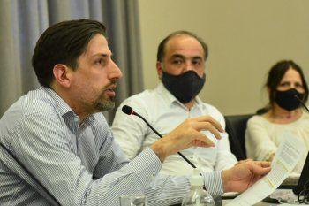 El ministro de Educación, Nicolás Trotta, durante la reunión del Consejo Federal de Educación.