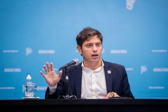 El gobernador Axel Kicillof pidió a la oposición que recapacite.