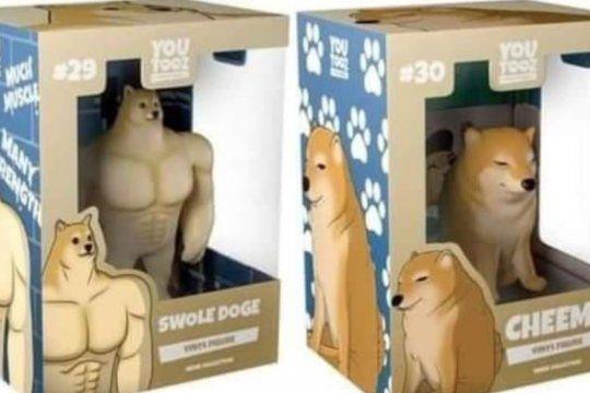 Los perros del famoso meme ya son juguetes exitosos y quizás vayan por más