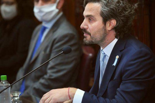 Cafiero se dirigirá al senado para defender la gestión de Gobierno.