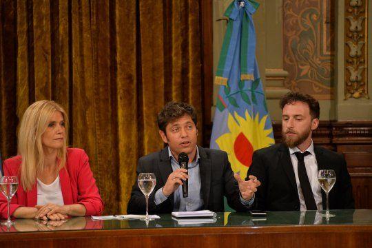 Kicillof encabezará la apertura de las sesiones ordinarias en la Legislatura junto a Verónica Magario y Federico Otermín.