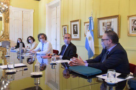 El Gobierno mantuvo una nueva reunión del gabinete ecomómico