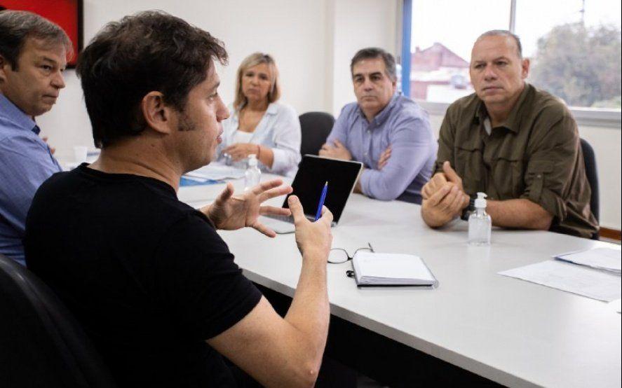 Kicillof y Berni recorrieron comités de emergencia contra el coronavirus en el conurbano
