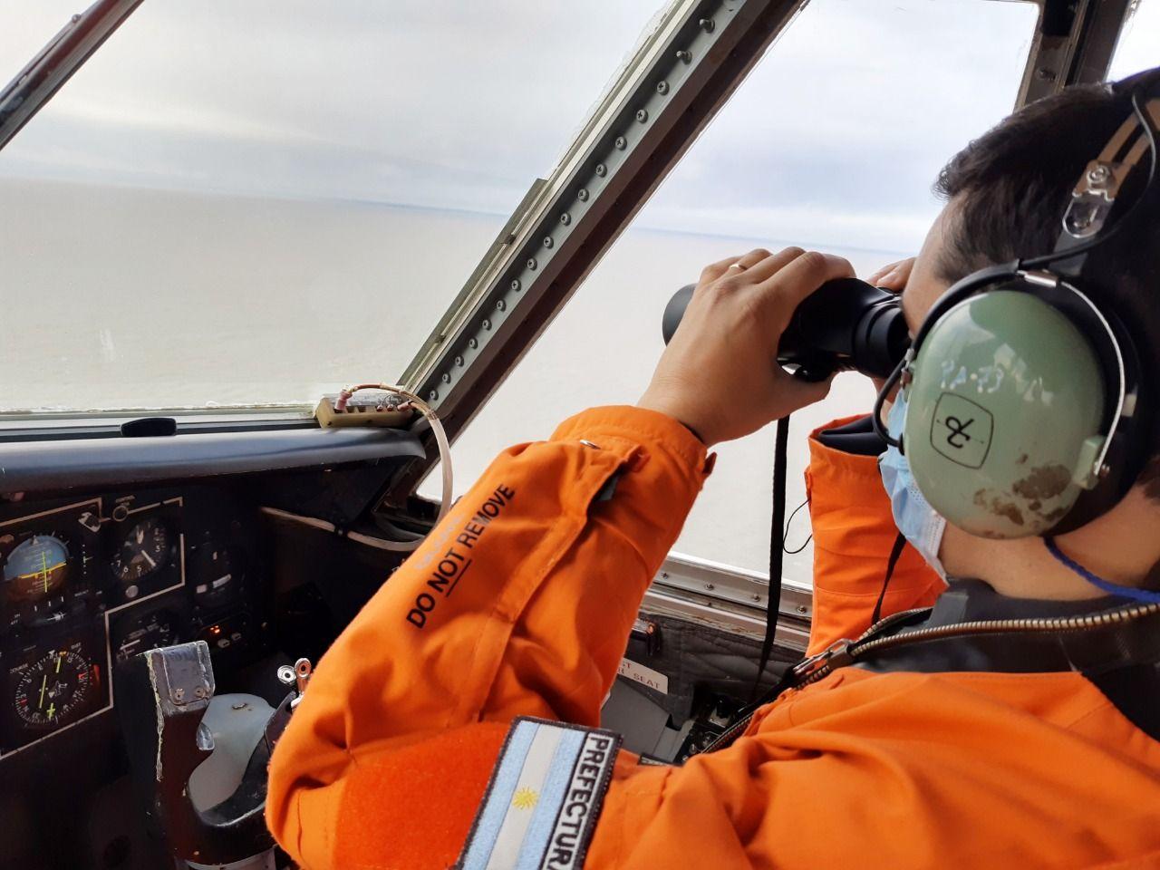 A la turista la buscan en el mar desde el sábado a la tarde