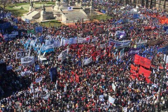 grabois ya avisa que el movimiento piquetero no dejara de movilizar a partir de octubre