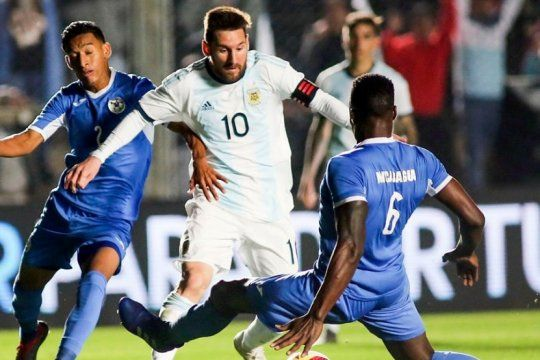 argentina goleo a nicaragua en su ultimo amistoso antes de la copa america