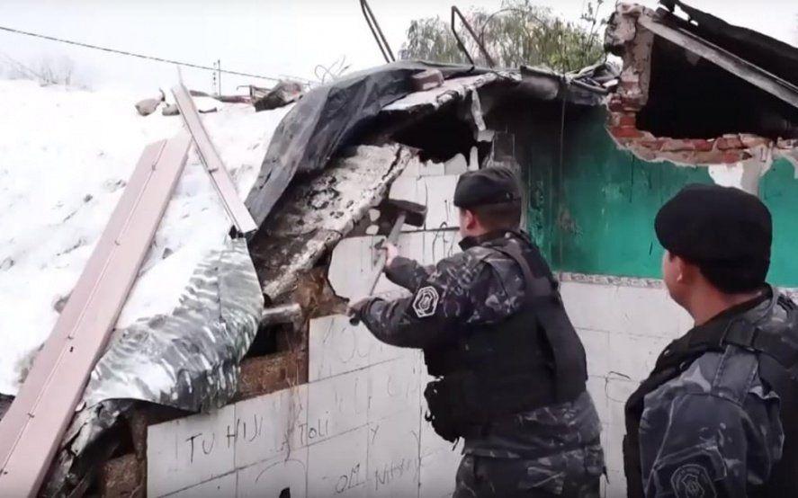 Derribaron seis búnkeres narcos en La Matanza: ya son 132 los derrumbados en la gestión actual
