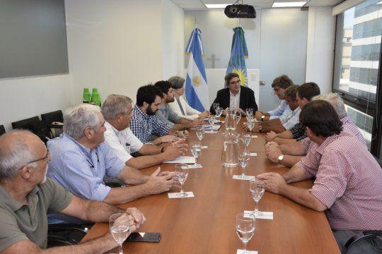 el gobierno bonaerense y carbap plantearon una agenda en comun y acordaron continuar el dialogo