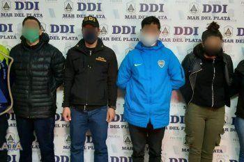 Por el millonario robo fue detenida una mujer de 26 años y dos hombres