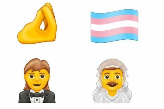 emojis 2020: llegan el ?montoncito?, la bandera trans, hombres con vestido y mujeres de traje